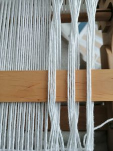 Leno weben Rigid heddle loom