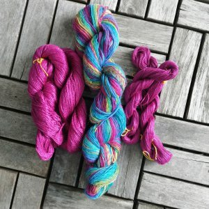 Mermaid scarf - Garn