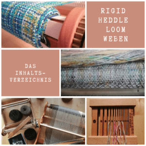 Rigid heddle loom weben